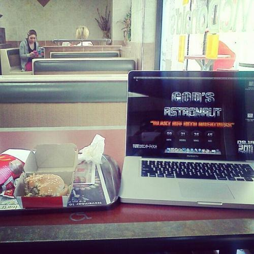 Big Mac And My MacBook Pro