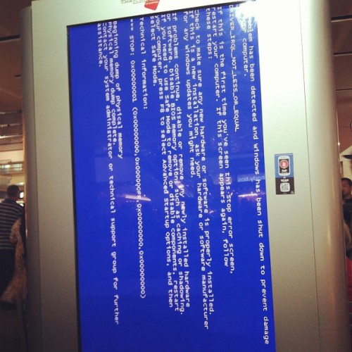 Mall Matrix Crash  (at Glendale Galleria)