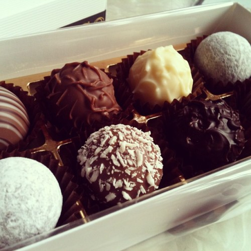 #Swiss #truffles #chocolate #food #travel #switzerland #interlaken  (at Interlaken)
