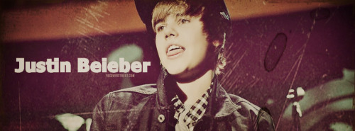 Justin Bieber Young 2 Facebook Cover