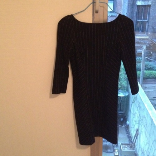 I just added this to my closet on Poshmark: DVF navy wool dress. (http://bit.ly/1166xb3) #poshmark #fashion #shopping #shopmycloset