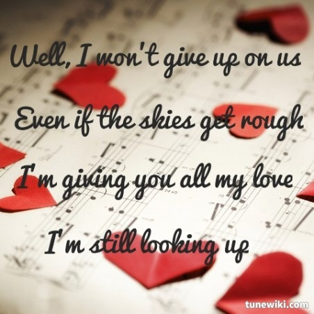 This song reminds me so much of my Daddy I Wont Give Up Lyrics by Jason Mraz