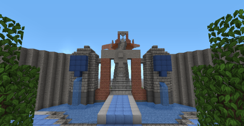 thekingdomheartsminecrafter:  It's turning out just how I wanted it to turn out. The Castle is going to be the true test of my building abilities.