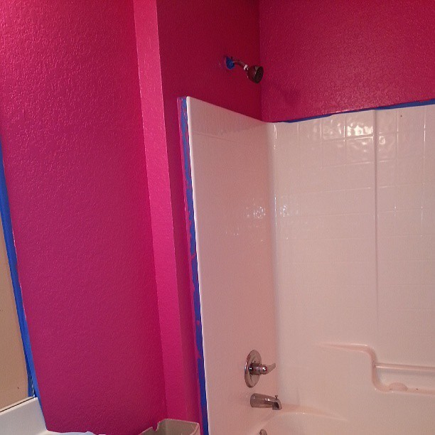 My bathroom evil is almost compete