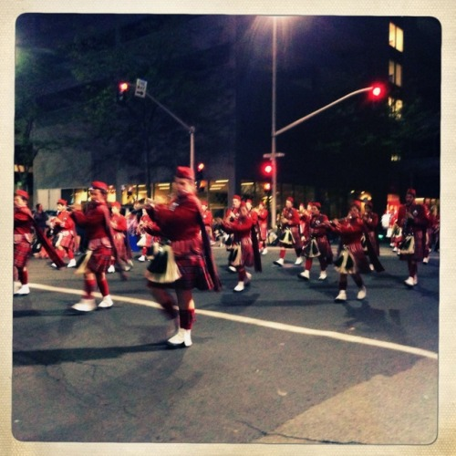 Highland Scotties #Kilts #LilacFestival #ArmedForces #TorchlightParade #LilacParade #Spokane #Parade