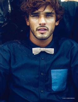 mensfashionworld:  Marlon Teixeira by Lope Navo for L'Officiel Hommes Korea