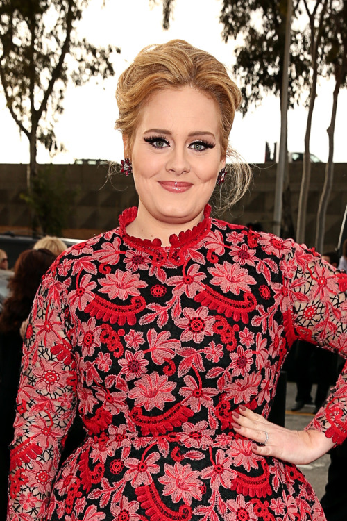 ADELE IS A BEAUTIFUL RED GARDEN.