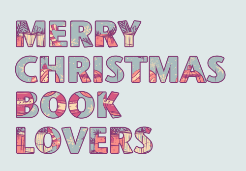 prettybooks:  Merry Christmas Book Lovers! (Pattern created by GabsGiggles and magg)