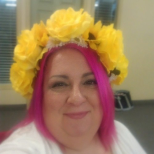 I am so ready for spring! #happy #fun #flowers #floralcrown #queenofspring