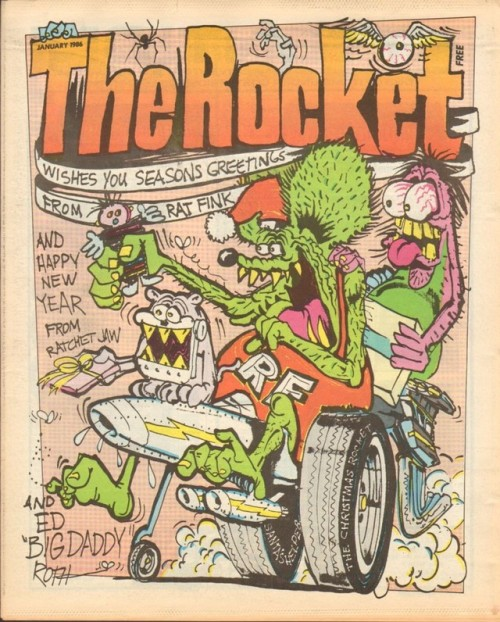Happy Xmas from The Rocket, 1986