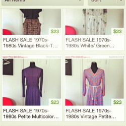 Flash #sale everything is 25% off today only!! www.vintageworldrocks.com #etsy #vintagetsy #bestofetsy