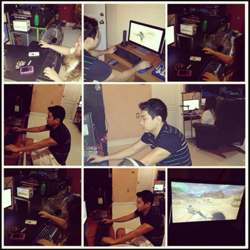 Busy playing with my love @ararmeneses..👍💑💏😊💻 #theatre #love #play #playing #inlove #counterstrike #dota #fun #games #game #gaming #ig #igers #igaddict #igersmanila #instapic #instagame #inlove #instaphoto #pic #photo #photoaday #photooftheday #picoftheday #dota