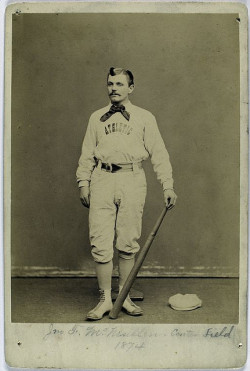 Baseball player, 1874.