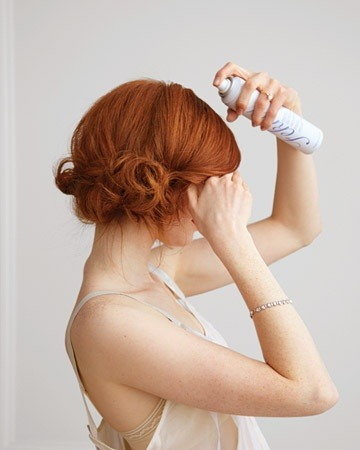 newcityhair:  This lovely side chignon and a little hairspray and you're unstoppable.  This summer, I'm bringing back the low side chignon. This topknot situation needs to get curtailed; I'm tired of the race to see who can get their hair closest to their forehead.