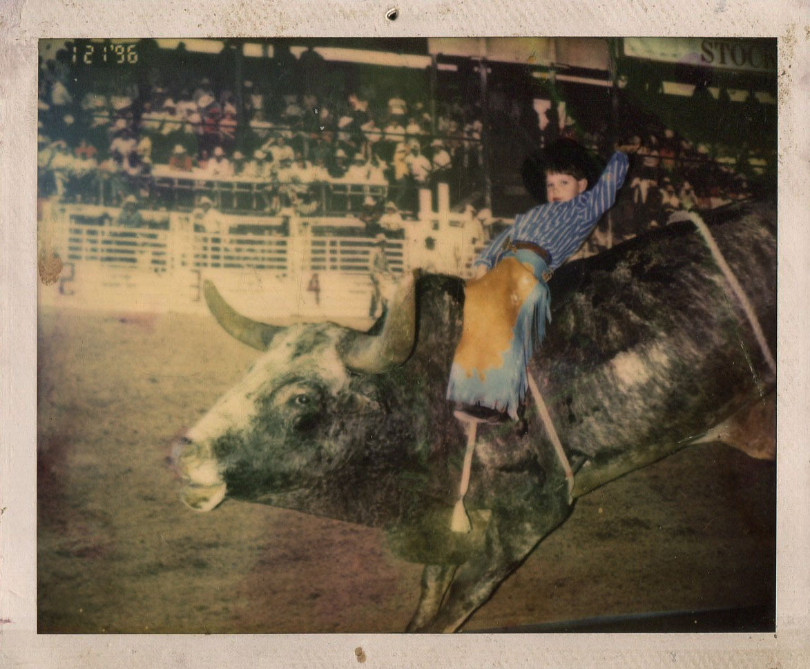 This was me as a six year old lil' buckaroo.