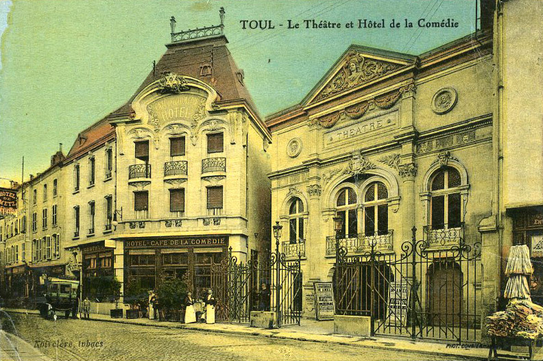The Theatre and the Hôtel de la Comédie, Toul