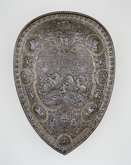 Shield of Henry II of France Date: ca. 1555 The British Museum