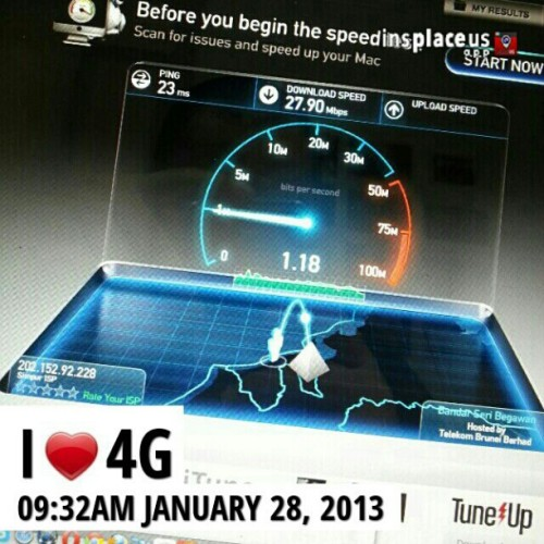 and monday just got fun :) #giwtech #dst #4g #trial #brunei (at Bandar Seri Begawan)