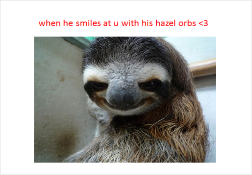 Creepy sloth whisper - photo#37