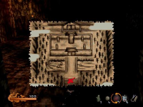 "This is the original map from level ""Free the princess""."