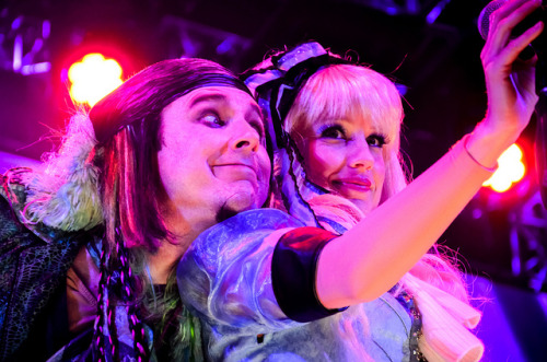 Mad T Party - March Hare and Alice on Flickr.