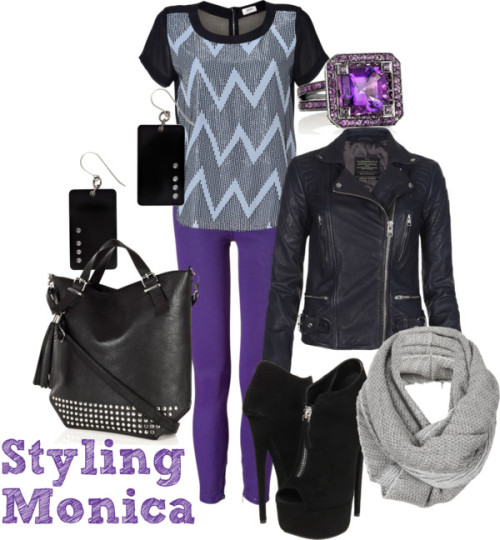 Untitled #635 by stylingmonica featuring knitted scarves