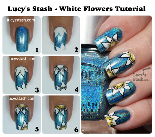 Cute tutorial.  I love the holo base!