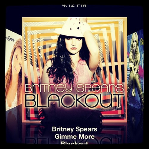 I love this song #gimmemore #britneyspears  #blackout
