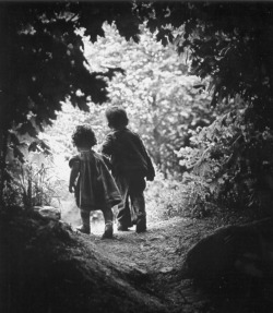 W. Eugene Smith, The Walk to Paradise Garden, 1946 {x}