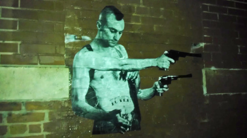 4 arm Travis Bickle by Baltimore Street Artist TOVEN.