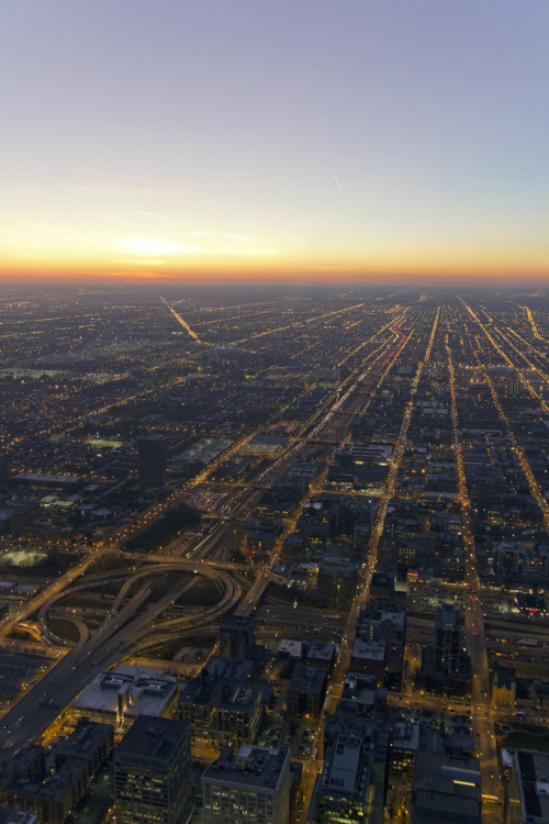 senerii:  Chicago's Grid by AlphTran on Flickr.