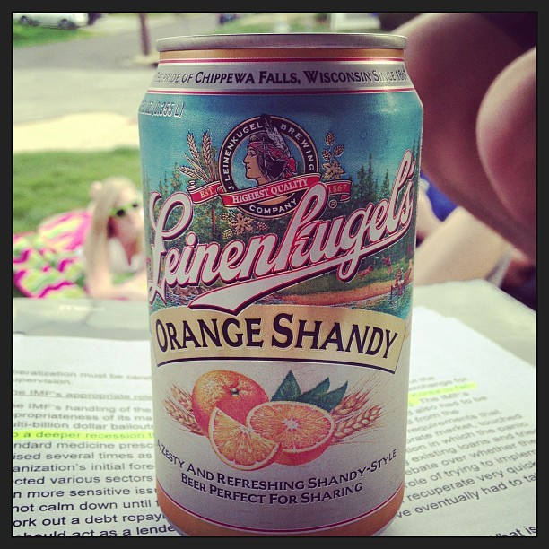 Highly recommended! I think it's my favorite shandy…