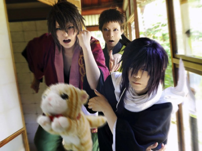 wonderland-cupcake:  hakuouki cosplay - Google Searchhakuouki cosplay - Google Search on We Heart It. http://weheartit.com/entry/52109534/via/MegumiKuran