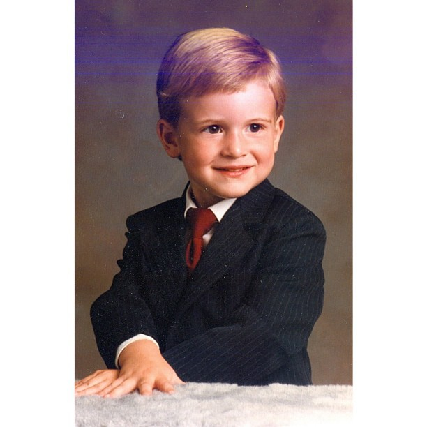 #tbt #youngrepublican #suitandtie #selfie
