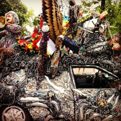 Mardis Gras! Houston #ArtCarParade (at Art Car Parade)