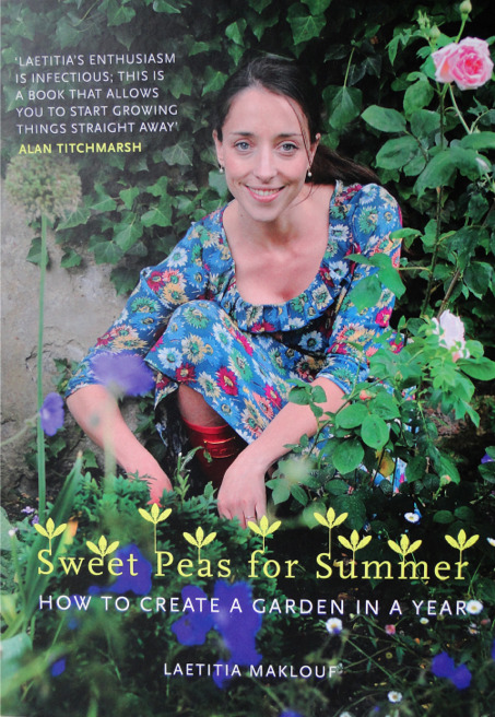 I have just started reading Laetitia Maklouf's book, Sweet Peas for Summer about how to create a garden in a year.  The most amazing thing is that her starting point in the book is March.  I mean how often does that happen!?  Almost always with these sorts of things I find that I have either just missed the perfect time to plant, prune, do anything or it is months away.