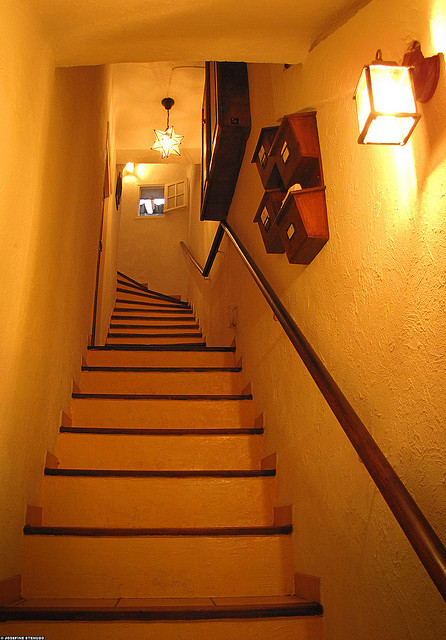 | ♕ |  steep & narrow staircase - Antibes  | by © ratexla