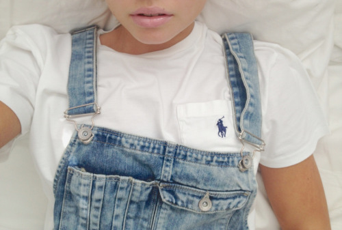allisimpson:  thought it was an overalls kinda day don't laugh