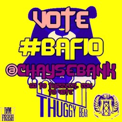 Post this on your ig and go vote for the Thuggy on thizzler.com #BAF10