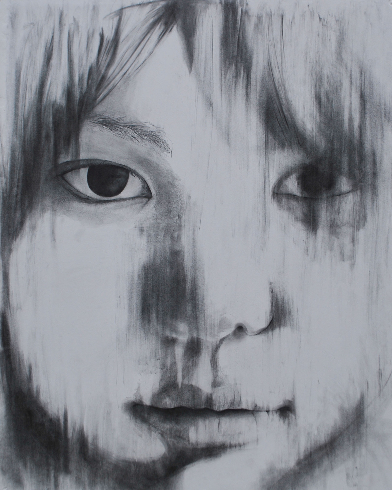 Iina (from the series We Are Constellations)30 in. x 40 in.Graphite on Illustration BoardNaomi Nakazato