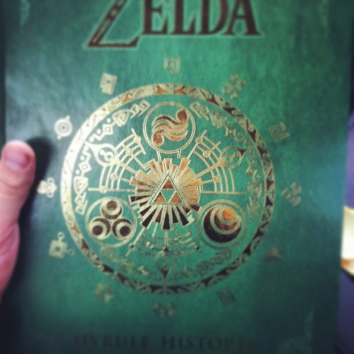 A birthday gift!!!! #hyrulehistoria #zelda #triforce  (at Walmart Distribution Center)