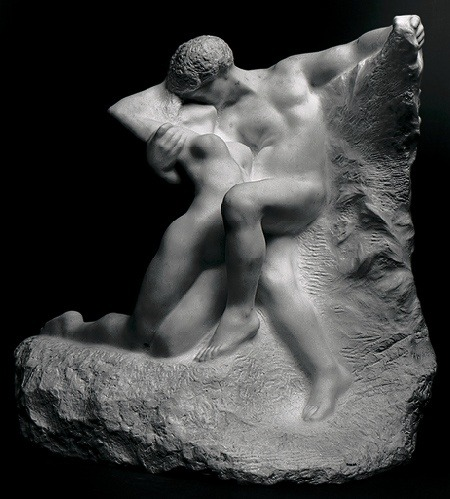 sashastergiou:  Auguste Rodin  Eternal Spring. The Metropolitan Museum of Art, New York. Bequest of Isaac D. Fletcher, 1917 (17.120.184)