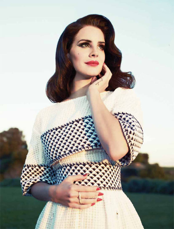 Lana del Rey by Mark Williams & Sara Hirakawa for Fashion Magazine Summer 2013 wearing Chanel
