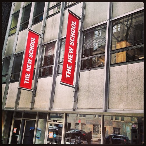 Our founder @emilymiethner visited @thenewschool today to speak to a freshman class. We're so excited to be hosting the next #FindPassion conference here 4/6 in partnership with Eugene Lang The New School College of Liberal Arts!