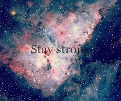 For everybody out there.I am staying STRONG.So will YOU.