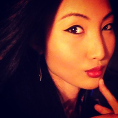 #shadow #chinita #filipina #pure #pinay #asian #eyeliner #cateyes #redlips #me #myself #i #out #fotd