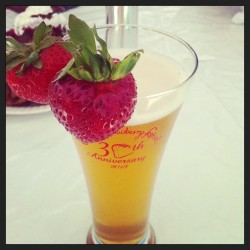Strawberry #beer! (at California Strawberry Festival)