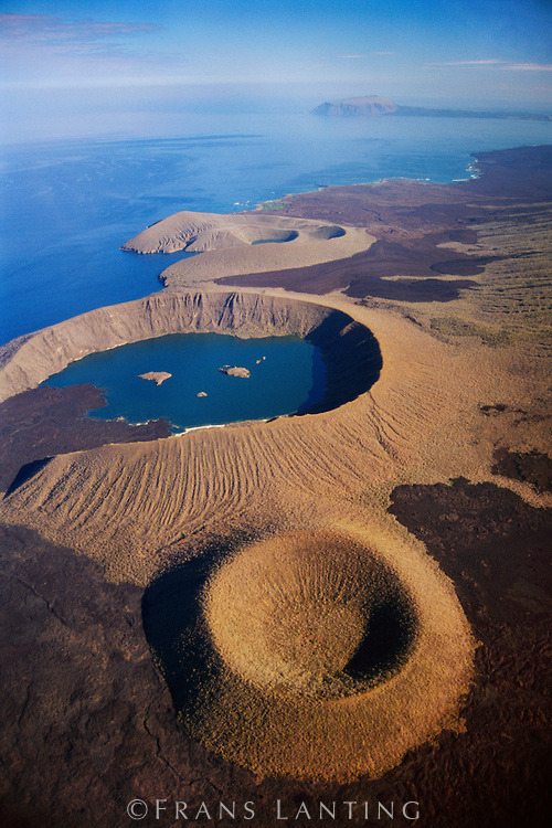 thatscienceguy:  Galapagos Islands; Volcanic Craters