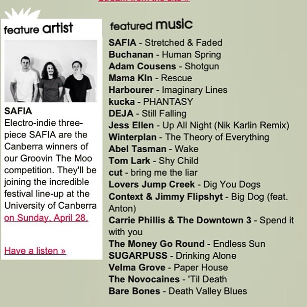 Da remix is on @triplejunearthd #featuredmusic this week!!!! :) www.triplejunearthed.com/jessellen