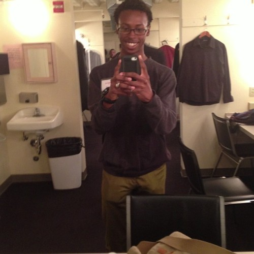Dressing room selfie! #ImPerformingAtPantagesBITCH !!!!!!